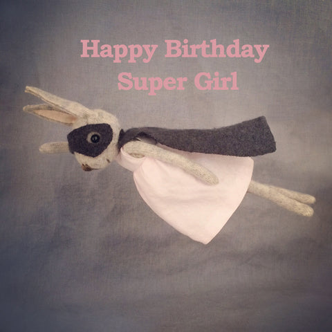 Letters14 | Happy Birthday Super Girl!