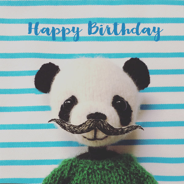 Letters78 | Happy Birthday Panda