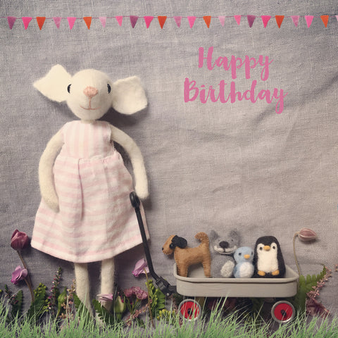 Letters81 |Happy birthday miss mouse