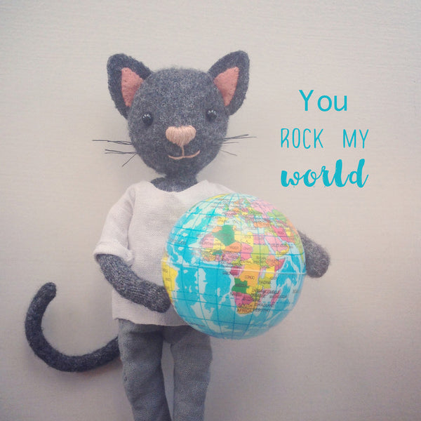 Letters8 | You Rock My World!