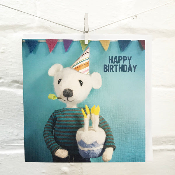 Letters93 |HAPPY BIRTHDAY POLAR BEAR