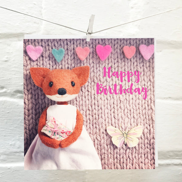 Letters94 | HAPPY BIRTHDAY MISSES FOX