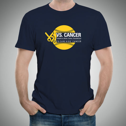 Baseball Vs. Cancer 2017 T-Shirt - Navy