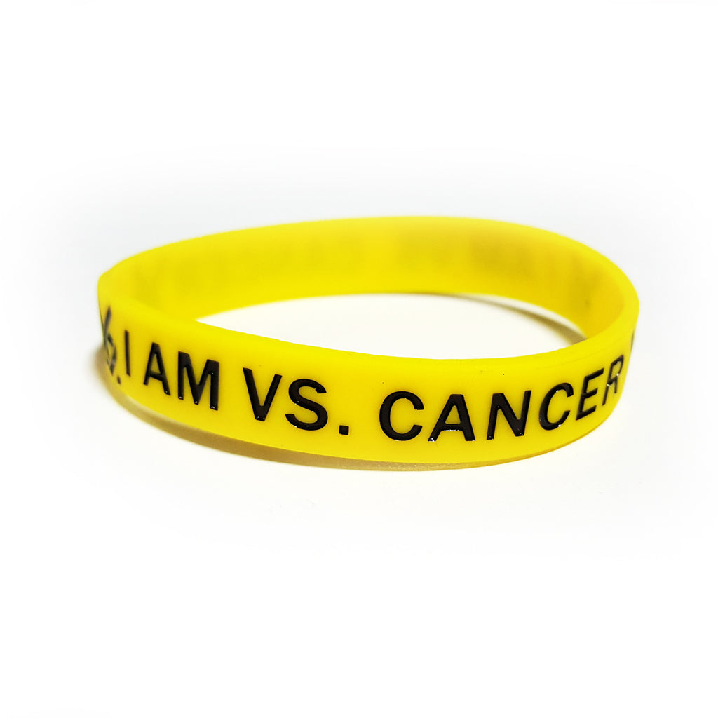 2017 Vs. Cancer Wristband - Yellow