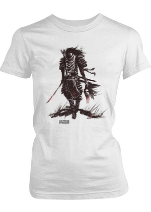 TOMOE GOZEN, BEAUTIFUL BADASS women's t-shirt