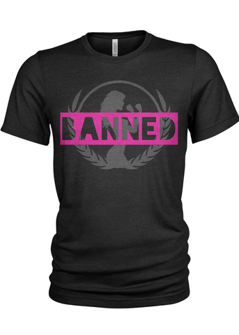 Fight Chix Banned Unisex T-Shirt