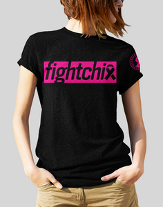 Fight Chix Fight Breast CancerShort-Sleeve Unisex T-Shirt