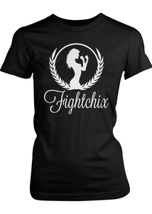 Crest Fight Chix Logo