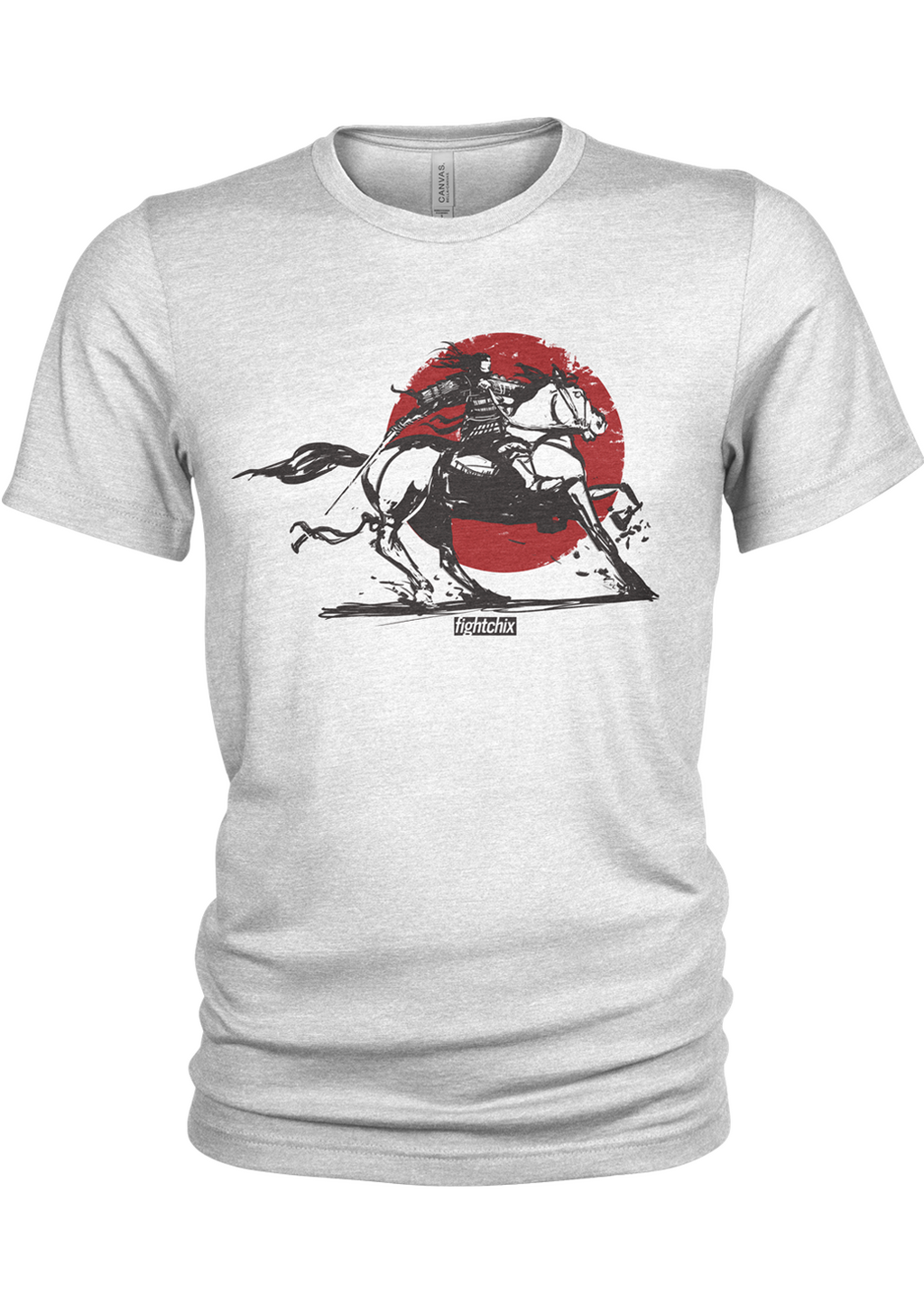 TOMOE GOZEN, HORSEBACK, men's t-shirt