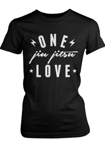 One Love women's t-shirt (black)