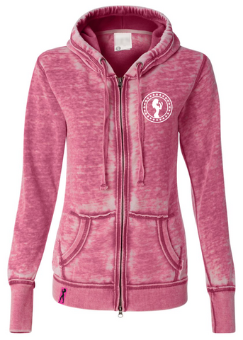 Fight Chix Smoke Hoody (pink)