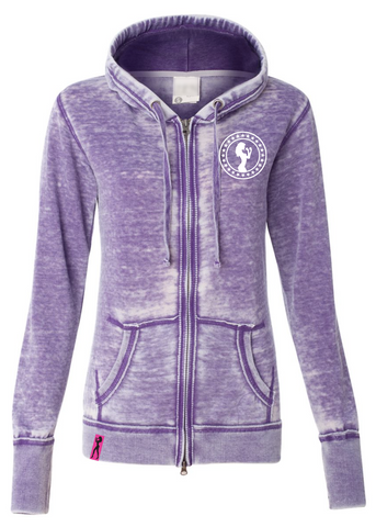 Fight Chix Smoke Hoody (purple)