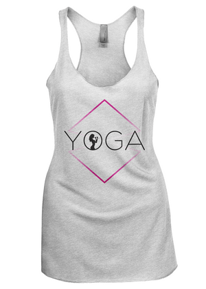 Fight Chix Yoga Tank (light colors)