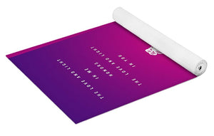 Love and Light Yoga Mat - Purple - Yoga Mat