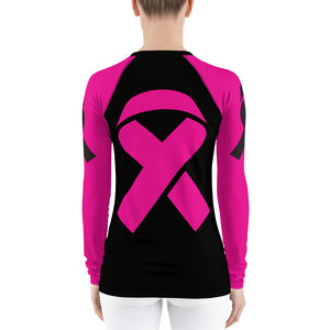 Fight Breast Cancer Women's Rash Guard