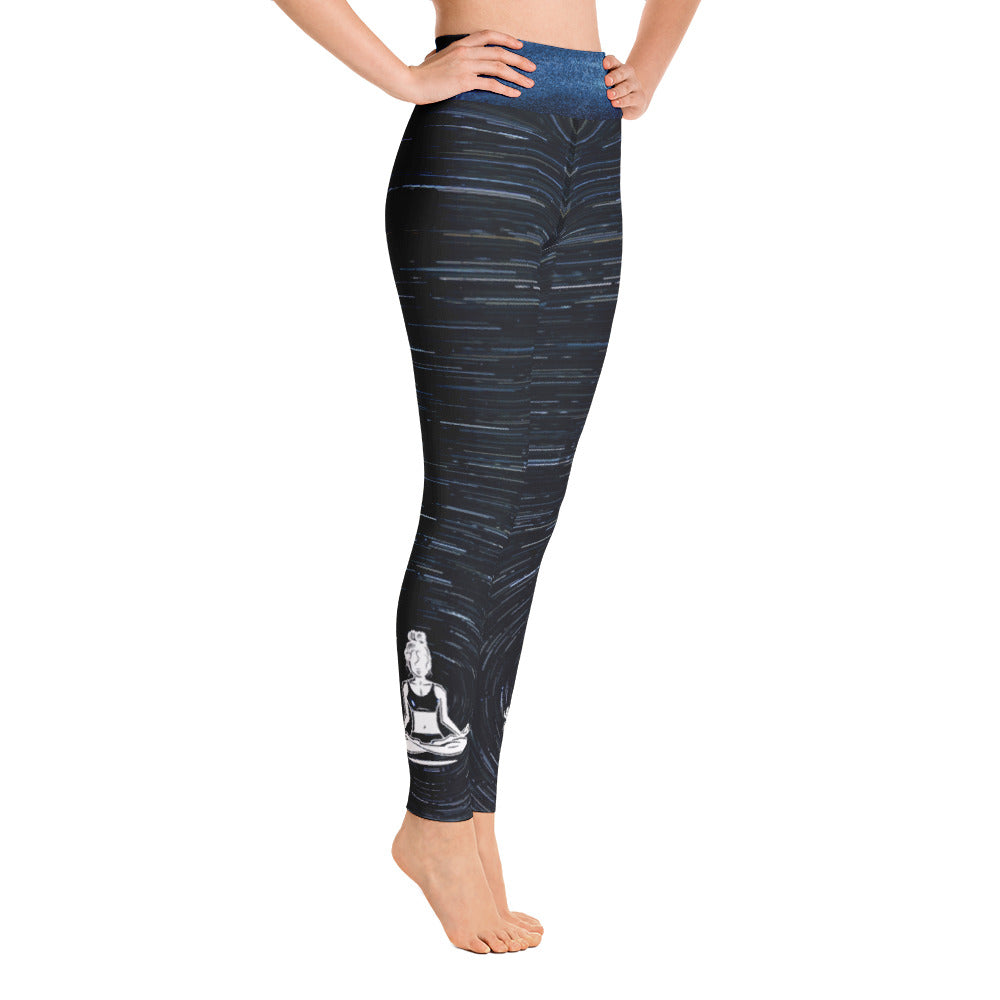 Cosmic Circle Yogi Chix Yoga Leggings