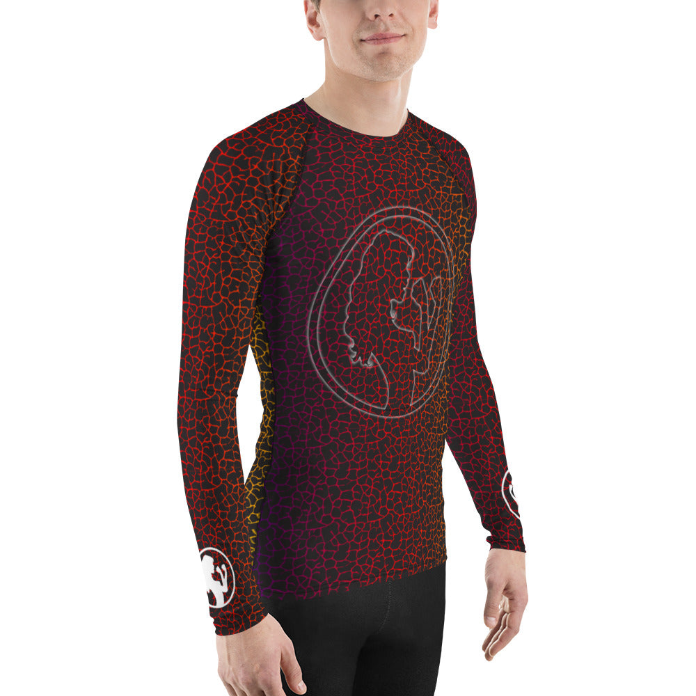 Cracked Rainbow Rashguard (mens)
