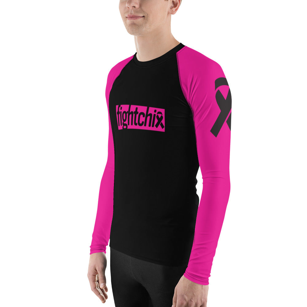 Fight Breast Cancer Men's Rash Guard