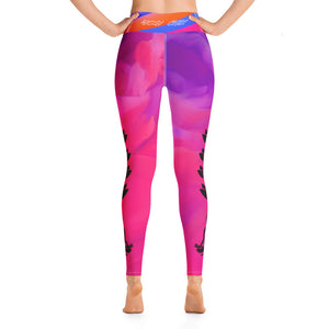 Lotus Rainbow Yogi Chix Yoga Leggings
