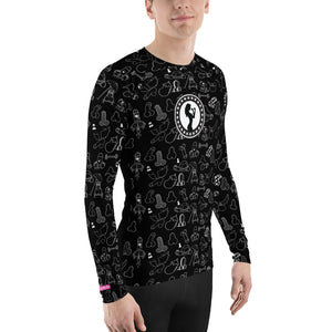 Super Bad Rash Guard (Black)