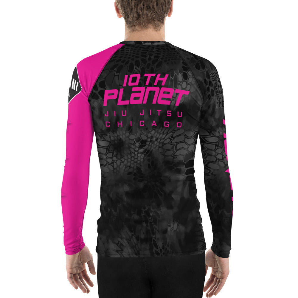 Fight Chix + 10th Planet Chicago Rashguard (mens)