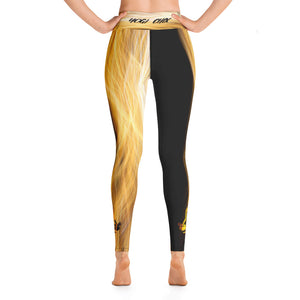 Ring of Fire Yogi Chix Yoga Leggings