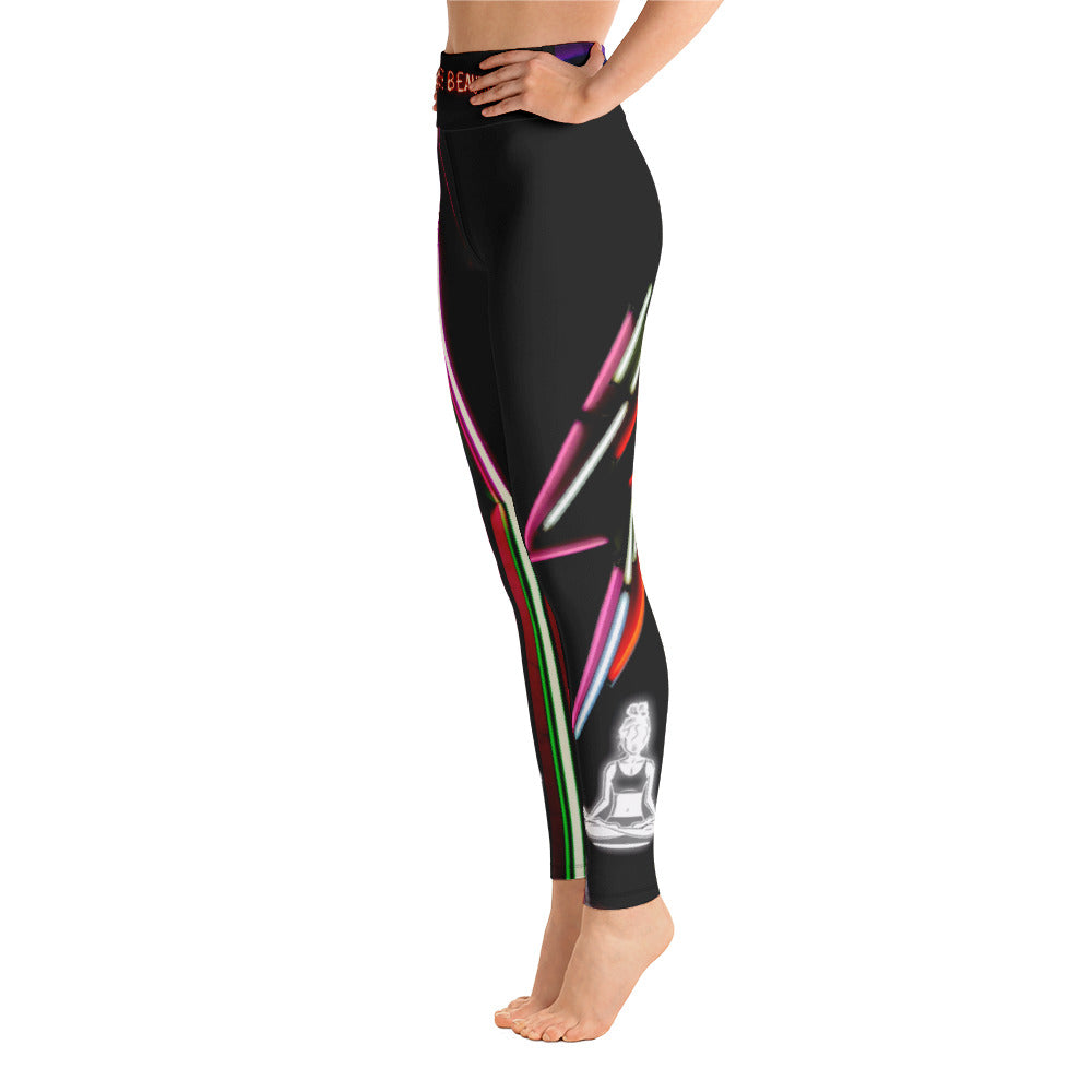 NEON LOVE Yogi Chix Yoga Leggings