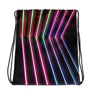 NEON LOVE Drawstring bag