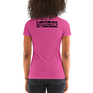 Fight Chix Fight Cancer Ladies' short sleeve t-shirt