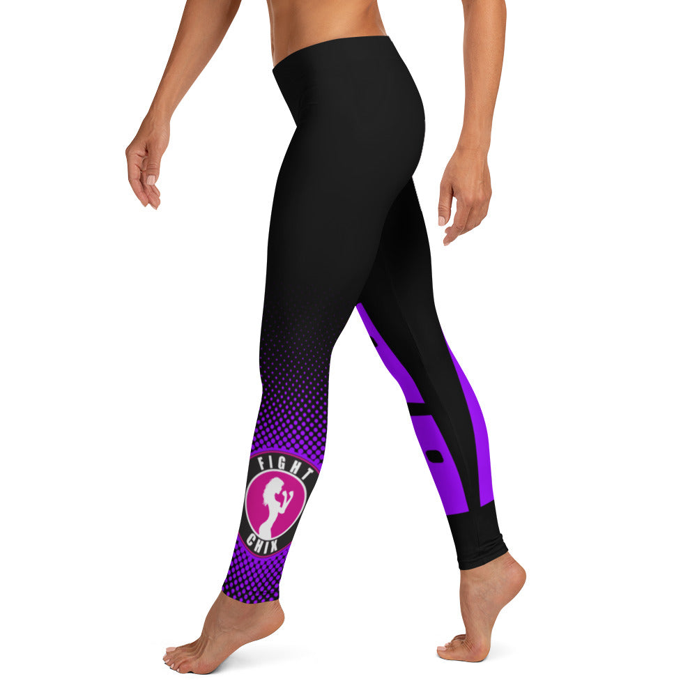 FIght Chix Ranked Spats, Purple Belt