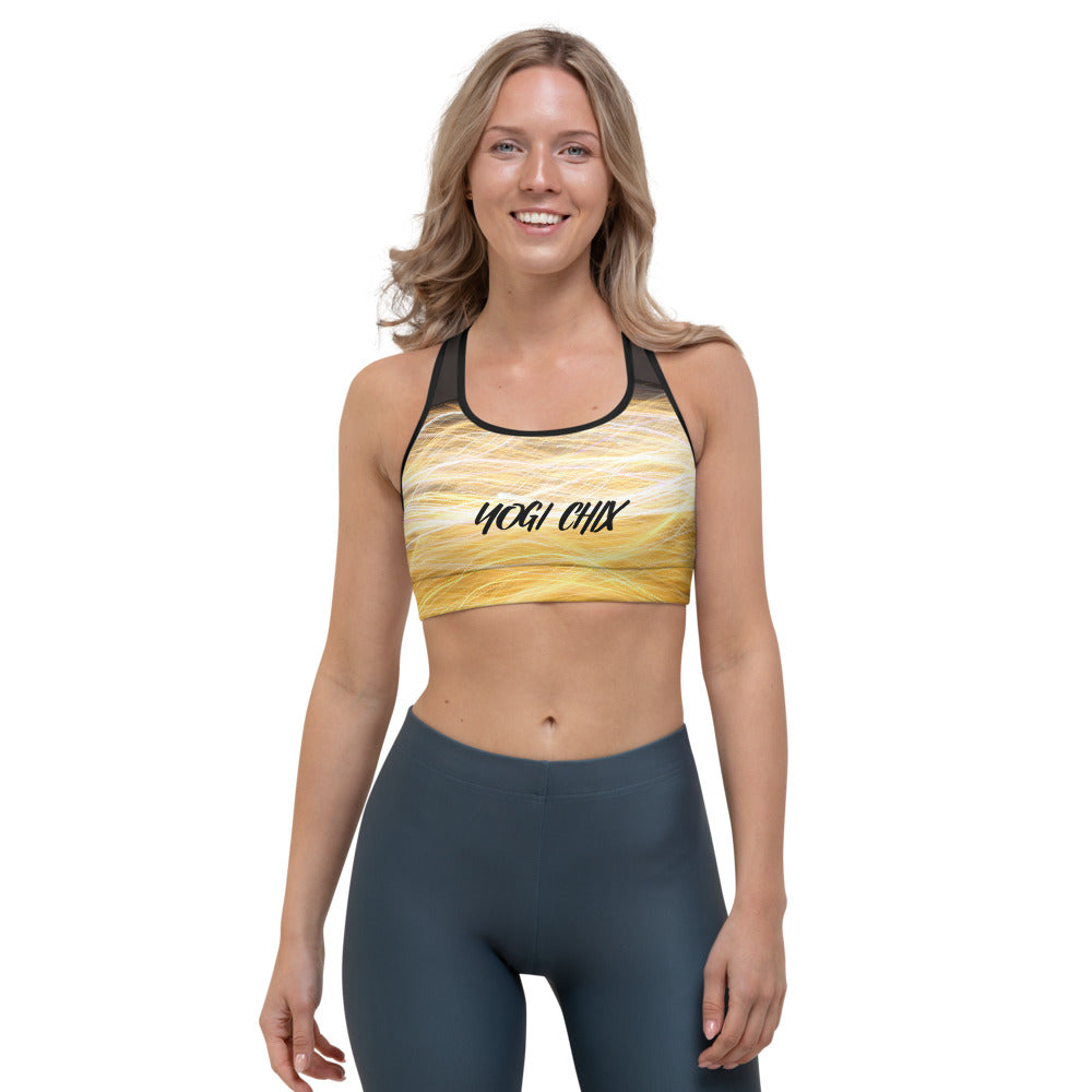 Ring of Fire Yogi Chix Sports bra