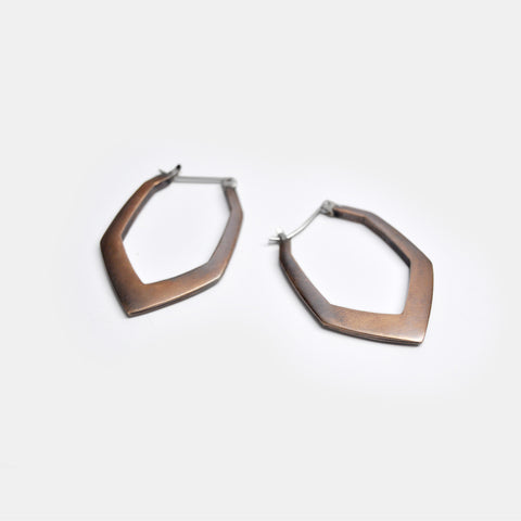 Angular Facet Earrings