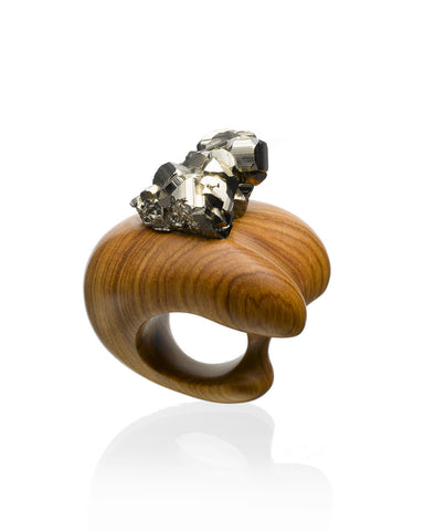 """Goldy Locks"" Handmade Ring"