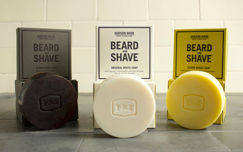 Beard & Shave Bar- By Hudson Made