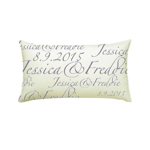 Wedding Celebration Pillow - by Gwenno James