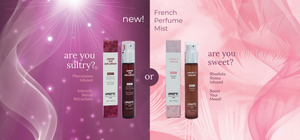 new! french perfume body mist