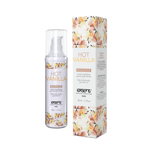 hot vanilla warming intimate massage oil
