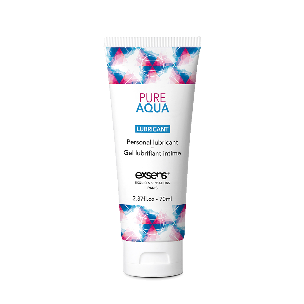 Pure Aqua Waterbased Lubricant | Vegan Ingredients | EXSENS USA