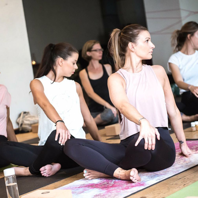 So You're About To Take Your First Yoga Class? Relax! It's Not As Intimidating As You Think
