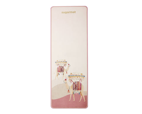 Camel with Rugs - TPE Yoga Mat (5MM) - Sugarmat