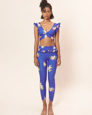 Set Bold Cobalt Autumn: Bra & Legging