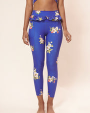 Bold Cobalt Autumn Legging - Sugarmat