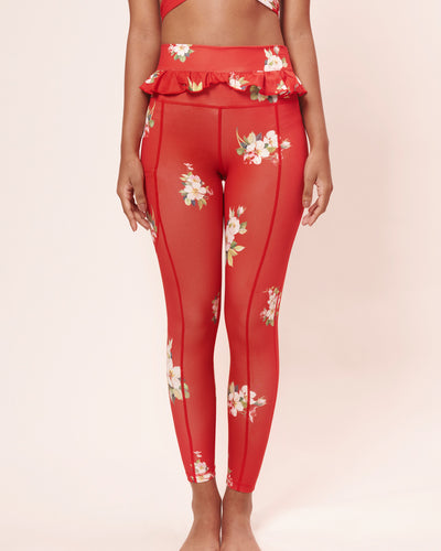 Bold Ruby Autumn Legging - Sugarmat