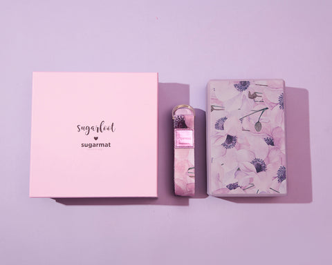 Sugarloot 1: Yoga Block & Stretching Strap - Sugarmat