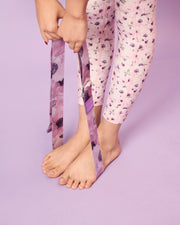 Yoga Stretching Strap - Plum - Sugarmat