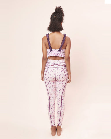 Set Plum Autumn: Bra & Legging - Sugarmat