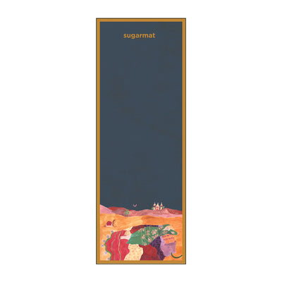 Desert Dreaming  - Suede Travel Yoga Mat (1MM) - Sugarmat
