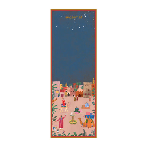 Marrakesh - Suede Travel Yoga Mat (1MM) - Sugarmat