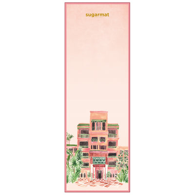 Mamounia  - Suede Travel Yoga Mat (1MM) - Sugarmat