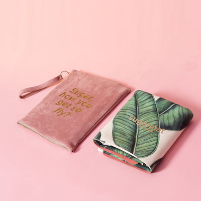 Nature - Suede Travel Yoga Mat (1MM) - Sugarmat